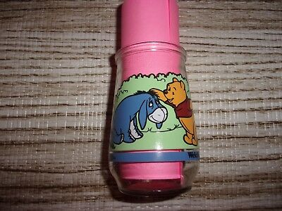 Welch's Jelly Jar Glass Pooh & Eeyore