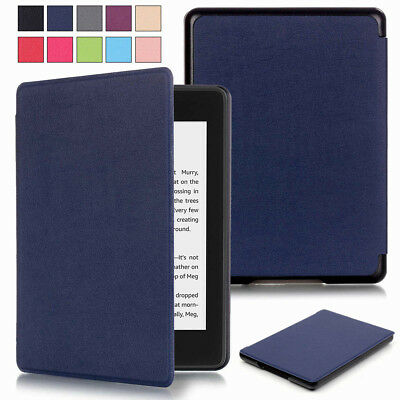Luxury Leather Smart Case Cover For Amazon Kindle Paperwhite 4 10th Gen 2018