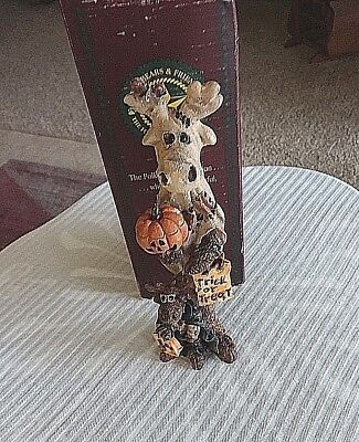 BOYD'S FOLKSTONE ~BOOWINKLE VONHIDEN MOOSE  #2831 Retired~The GHOST MOOSE~4E