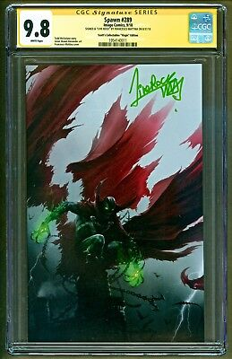 Spawn #289 Scott's Collectible Virgin Variant signed Francesco Mattina CGC 9.8