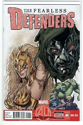 The Fearless DEFENDERS 4 VF-NM Marvel