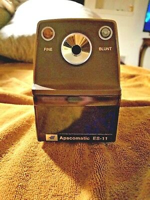 Apscomatic Es-11 Electric Pencil Sharpener/heavy Duty Made In Japan Free Ship