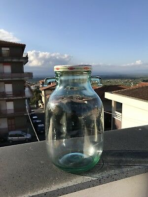 Clear Sicilian Carboy With Original Lid, 2.5 Liter