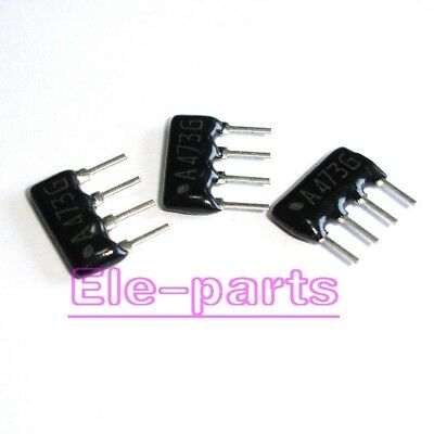 100 PCS Resistor Network A09-473 47K ohm 9-pin Bus