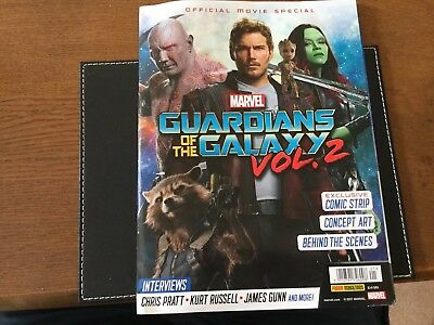 Official Movie Special Magazine MARVEL GUARDIANS Of THE GALAXY VOL2   2969 RARE