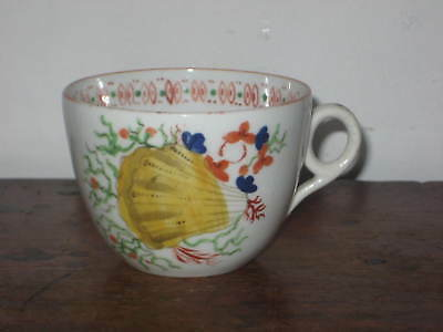 Early Minton Shell Pattern Teacup Circ Early 19Th Century