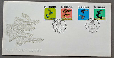 Singapore: 21 Apr 1974 - Fish Series - First Day Cover (#5)