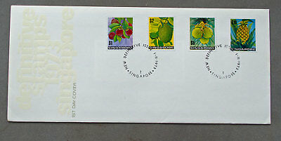 Singapore: 1 Nov 1973 - New Definitive Issue - First Day Cover (#7)