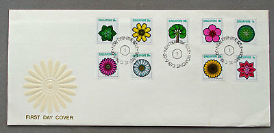 Singapore: 30 Sep 1973 - New Definitive Issue - First Day Cover (#9)