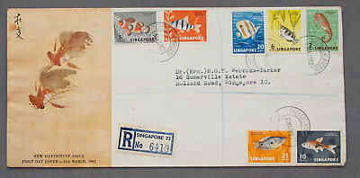 Singapore: 31 Mar 1962 - New Definitive Issue - First Day Cover (#49)