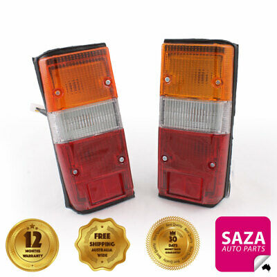 CLEAR LENS BRAKE TAIL LIGHTS PAIR LEFT RIGHT DS051-CLEAR suit NISSAN NAVARA D22