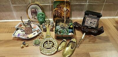 joblot of vintage antique curios and collectables
