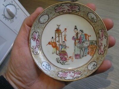 Antique Hand Painted Chinese Bowl / Dish