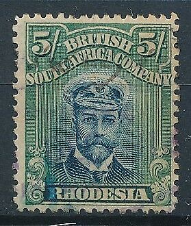 [38765] Rhodesia 1913/22 Good stamp Very Fine used Value $90