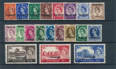 [38849] Morocco 1952/54 Good lot Very Fine used stamps