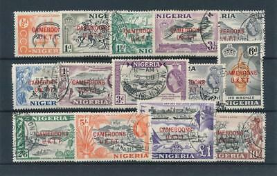 [38966] Cameroons Nigeria Good lot Very Fine used stamps