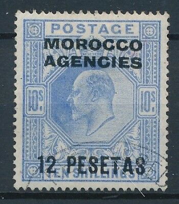 [39252] British Morocco 1907/10 Good stamp Very Fine used Value $140