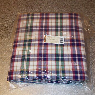 Longaberger Woven Traditions Plaid FABRIC 5-Yards Yds ~ Made in USA Brand New!