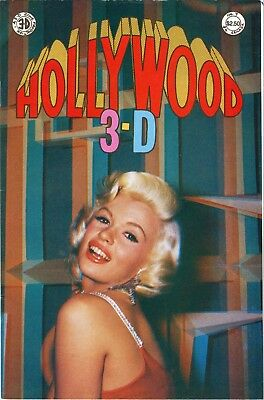 3-D HOLLYWOOD COMIC 1987 No. 7  JAYNE MANSFIELD,  36pgs.