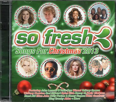 Christmas 2013 (2 x CD) Spice Girls/Bryan Adams/Wham/John Lennon/Britney Spears
