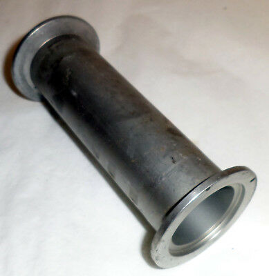 "Stainless Steel Kf-40 Klein Flange Straight 5 1/8"" Long Vacuum Fitting"