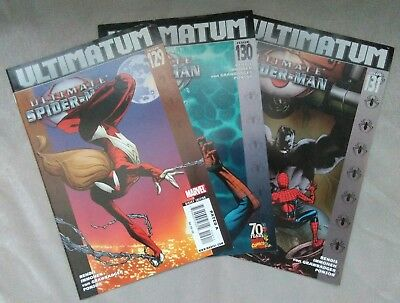 Marvel Comics -Ultimate Spider-Man, Ultimatum. (# 129/130/131) NM 2009.