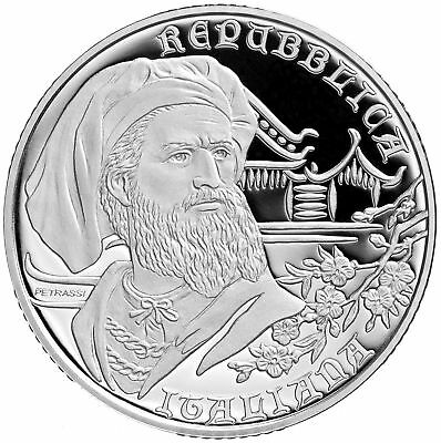Italien 10 Euro Silber 2018 Marco Polo Proof
