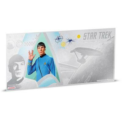Niue Islands 1 Dollar Star Trek Spock 5 g Silber Münznote, 2018,