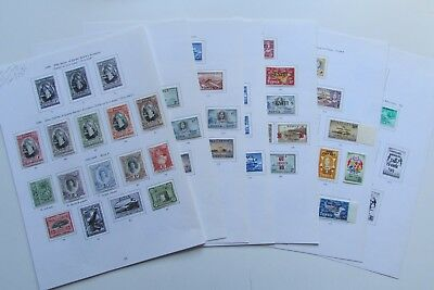 XL3538:  Tonga – Large Collection (1938 to 1967) of Stamps to £1.  Cat £150+