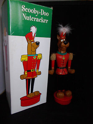 Warner Bros.Scooby Doo Nutcracker Wood 1997 in Box