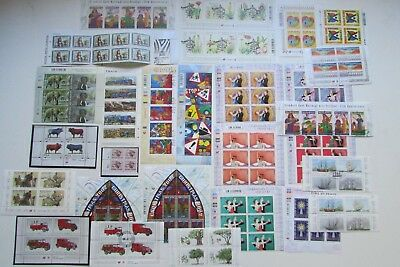 XL3564:  South Africa (1999 - 2003) – Selection of Stamp Blocks and Minisheets