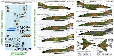 Xtradecal Nr.X48063 USAFE RF-4C & F-4D Phantoms based in England Part 2 1/48