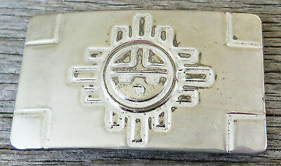 Sun God Southwest Style Chambers 1980's Vintage Belt Buckle