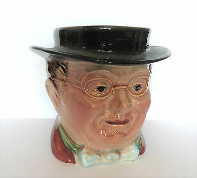 BESWICK Charles Dickens SMALL CHARACTER POT # 1118 - PICKWICK - Very Good