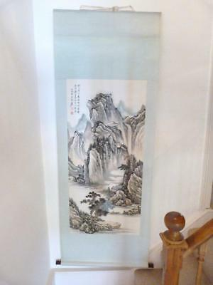 Chinese Scroll Painting, Signed By The Artist, Republic Period