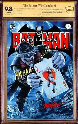 Batman Who Laughs #1 Mayhew Homage Variant Limited To 250 Cbcs 9.8 Ultimate