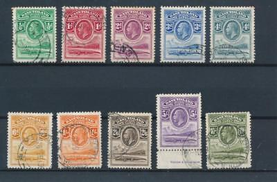[50799] Basutoland 1933 Very good set Used Very Fine stamps $330