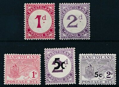 [50812] Basutoland Due good lot MH Very Fine stamps