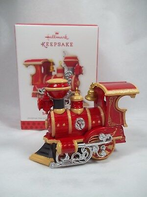 Hallmark NEW 2013 Santa Certified 1st Locomotive Ornament