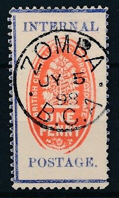 [50922] British central Africa 1898 good Used Very Fine stamp