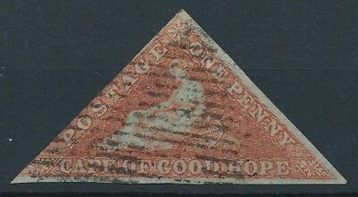 [51026] Cape of good Hope 1853 good Used Very Fine stamp (2 pics in desc)