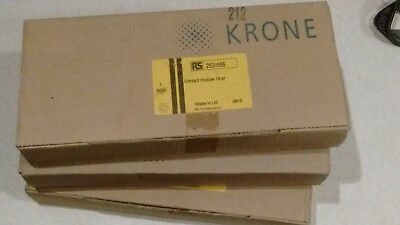 30 (3 boxes of 10) krone connectors 20 way connection / termination + probe.