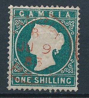 [51133] Gambia 1880 Very good Used Very Fine stamp $200