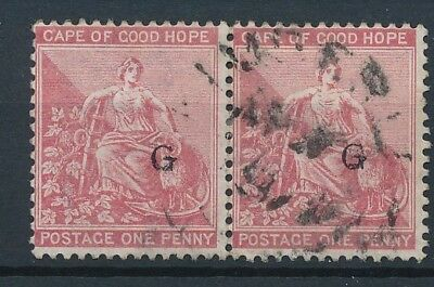 [51283] Griqualand 1878 good pair Used Very Fine stamps