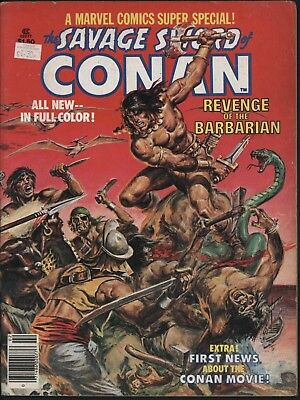 Savage Sword Of Conan #2 From 1977 Classic John Buscema Art All In Colour