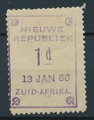 [51572] South Africa New Rep. 1886 good MH Very Fine Signed stamp $50