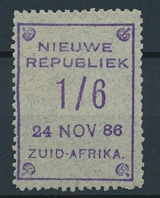 [51594] South Africa New Rep. 1886 Very good Mint no gum Very Fine stamp