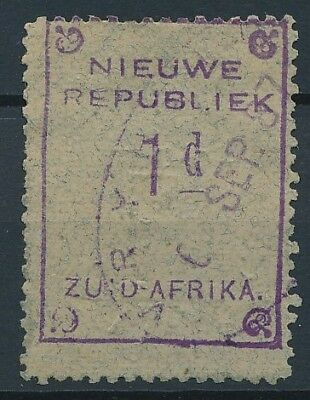 [51617] South Africa New Rep. 1887 good Used Very Fine stamp