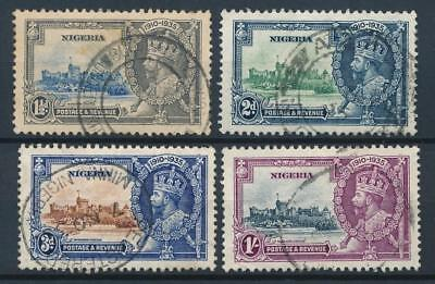 [51667] Nigeria 1935 good set Used Very Fine stamps