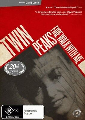 Twin Peaks: Fire Walk with Me (20th Anniversary Ed.) = NEW DVD R4
